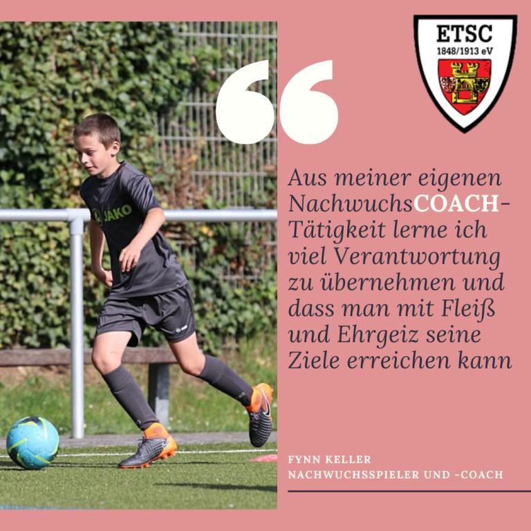 Interview mit Nachwuchscoach Fynn Keller